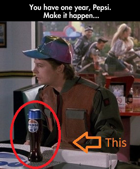 Make it happen, Pepsi…