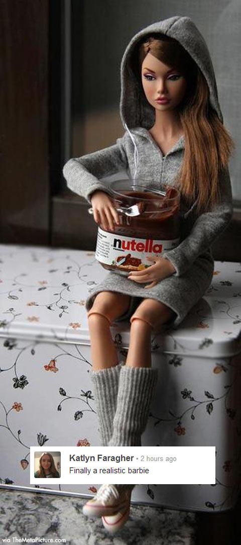 Realistic Barbie…