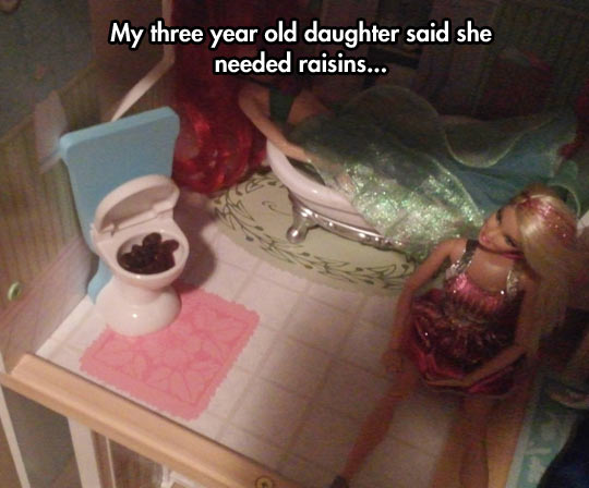 Another use for raisins…
