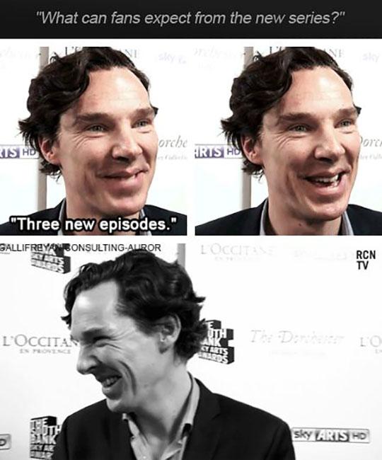 Trolling Cumberbatch…