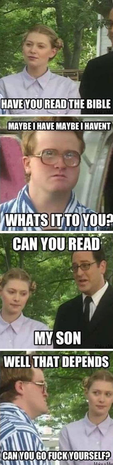 I love trailer park boys, and this is just one of many reasons why…