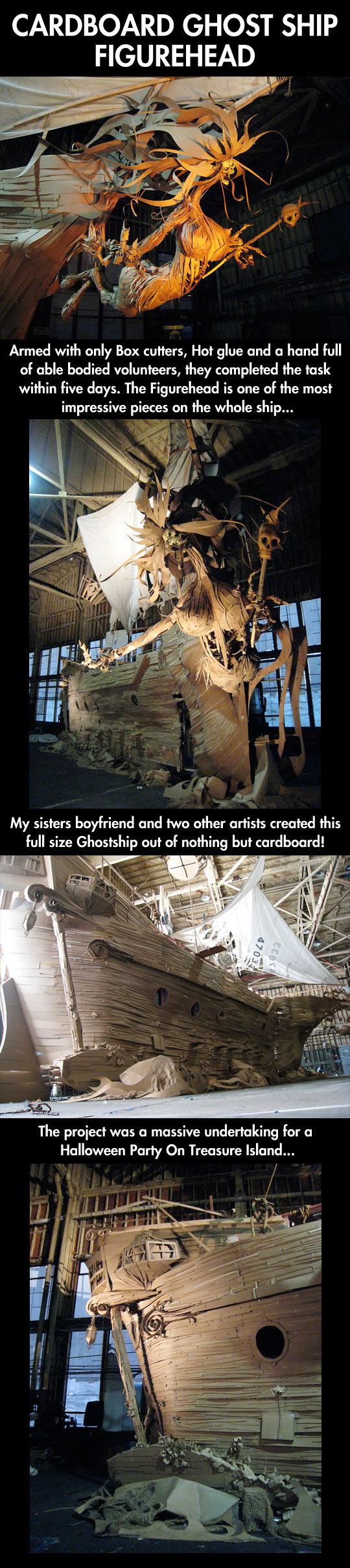 Amazing cardboard art…