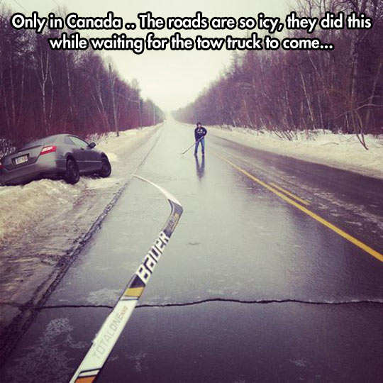 Living in Canada…