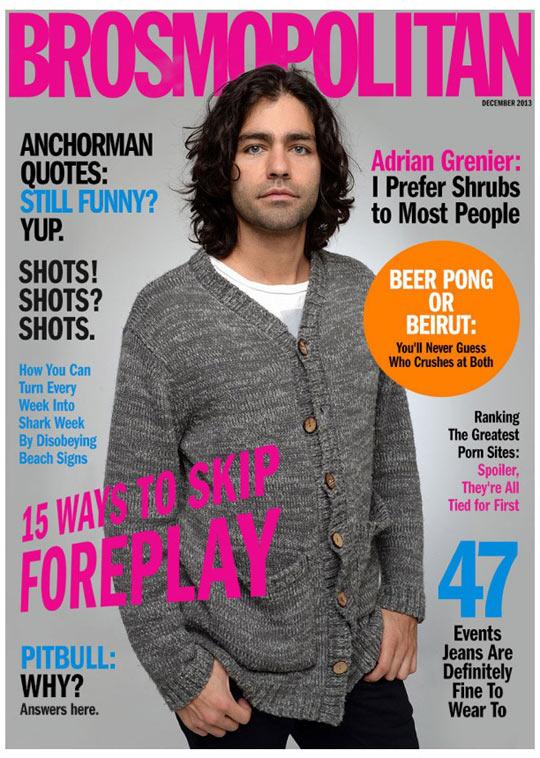 A magazine for men…