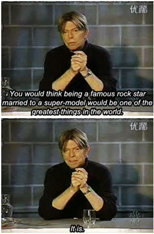 All hail Bowie…