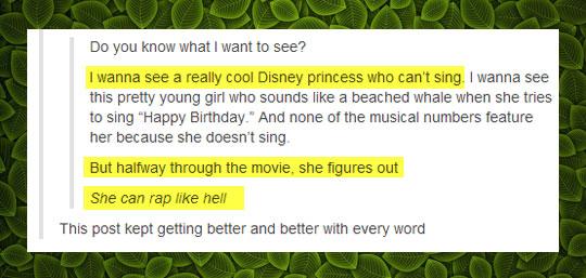 The new Disney movie's plot…