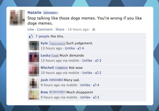 This person underestimated the power of doge…