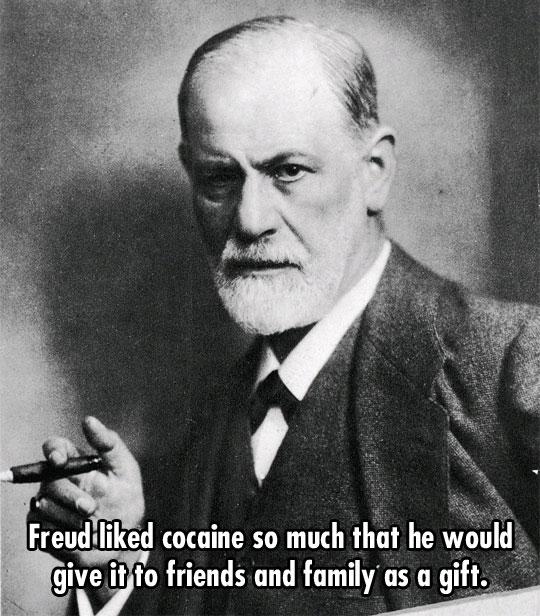 Freud's little dirty secret…
