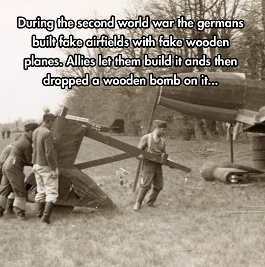 Wooden planes…