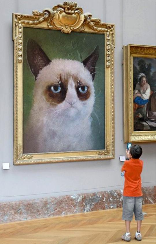 Grumpy art…