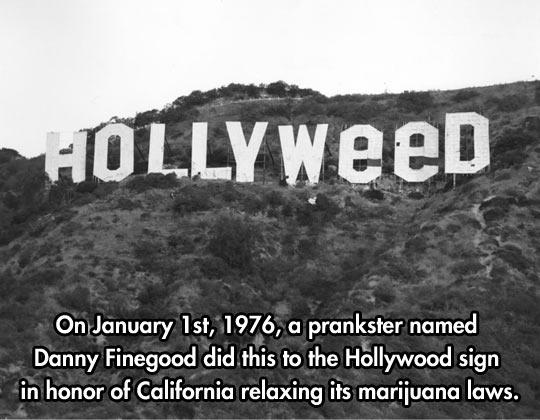Hollywood prankster…