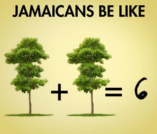 Jamaican maths…