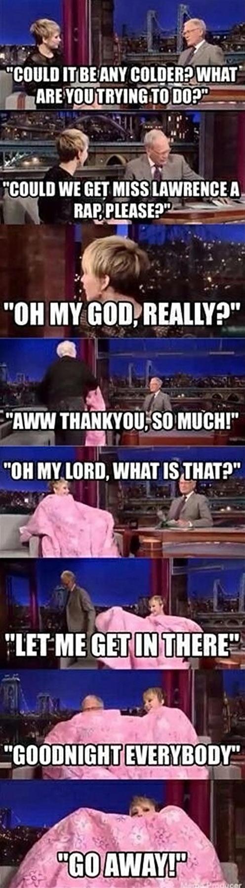 funny-Jennifer-Lawrence-blanket-TV