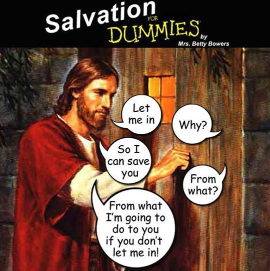 Salvation for dummies…