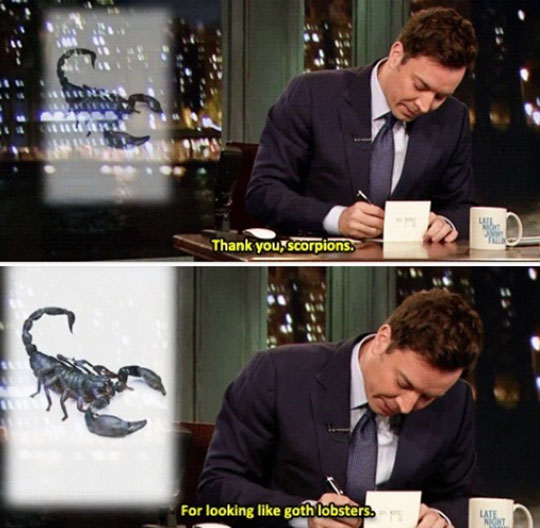 Goth lobsters…