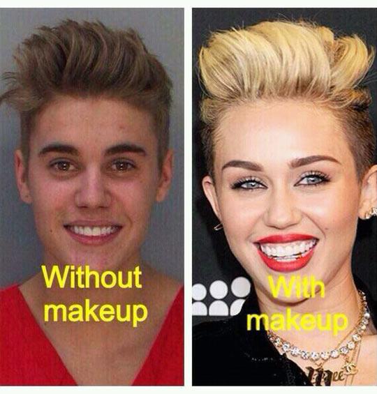 funny-Justin-Bieber-Miley-Cyrus