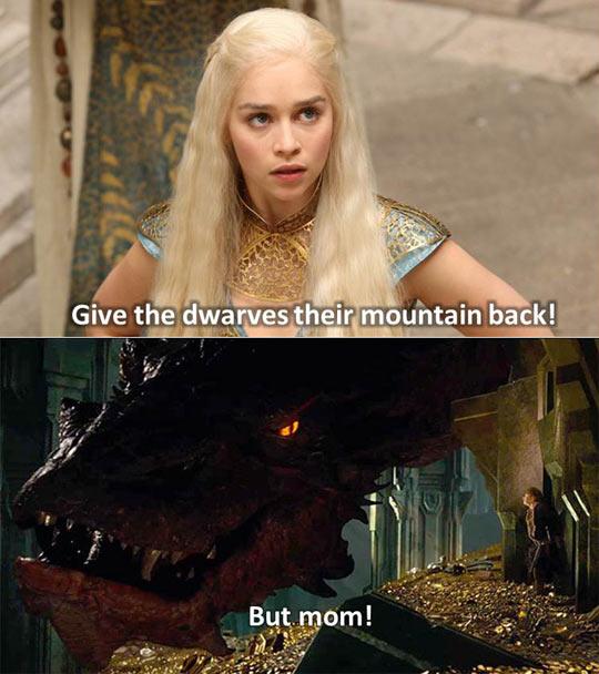 Khaleesi is not happy…