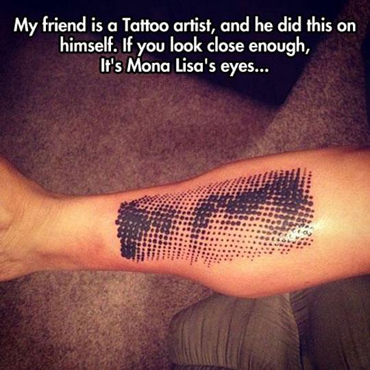 funny-Mona-Lisa-tattoo-artist