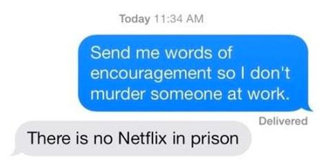 Send words of encouragement…