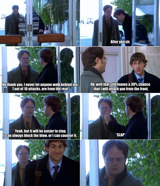 Classic Jim & Dwight…