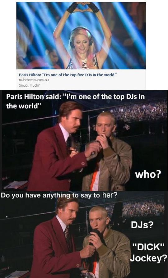 funny-Paris-Hilton-Eminem-best-DJ