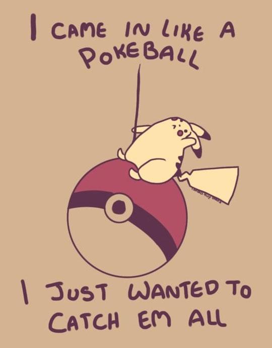 Wrecking Pokeball…