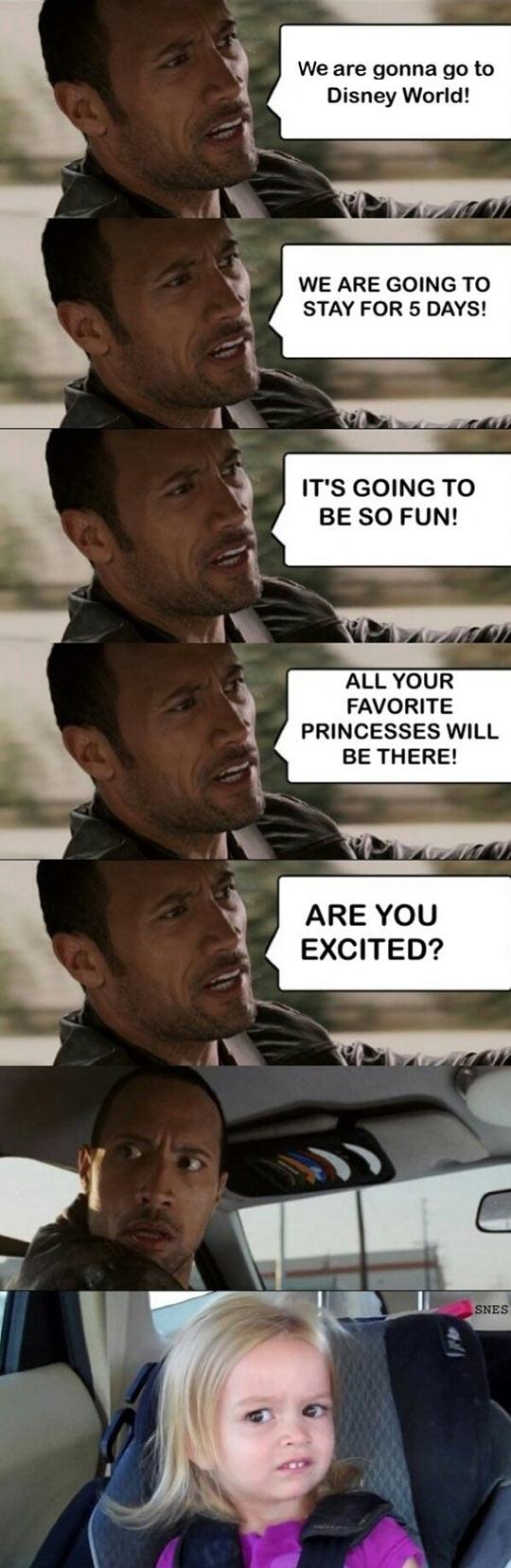 Let's go to Disney…