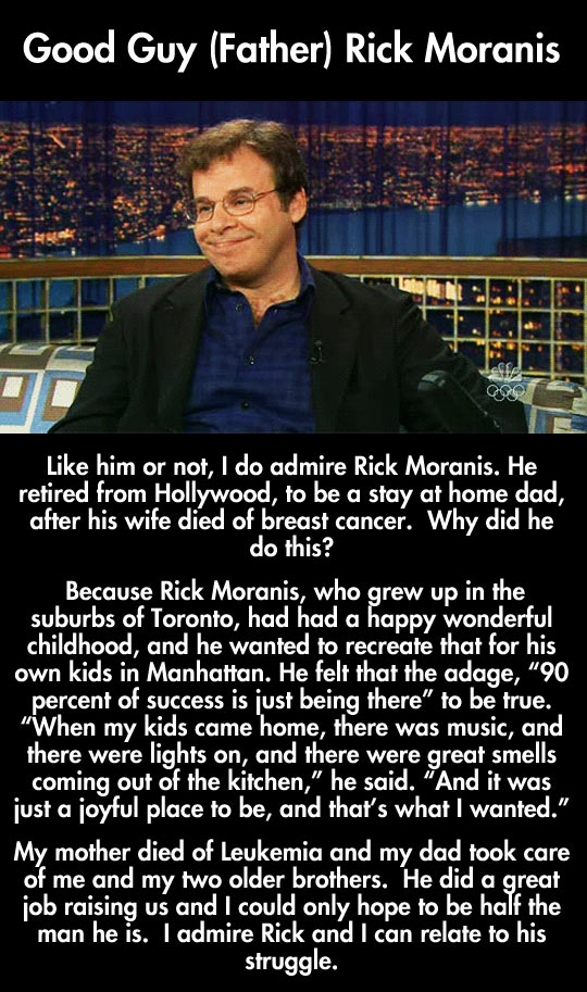 He is an amazing father…