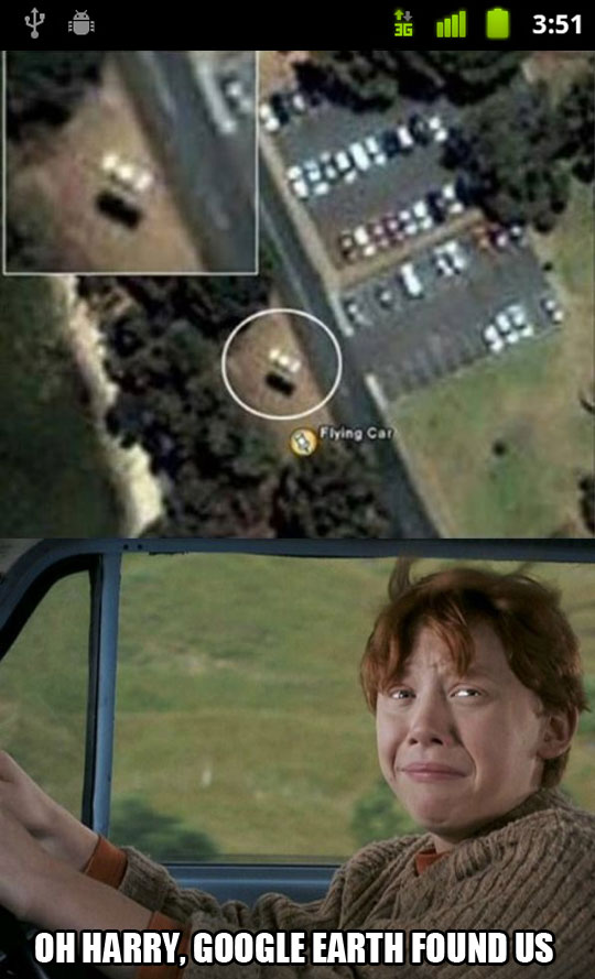 funny-Ron-Google-maps-flying-car