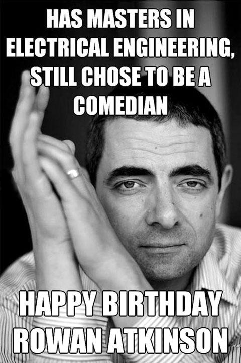 Happy Belated Birthday Mr. Bean…