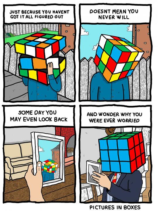 funny-Rubik-cube-head-teen-adult-comic