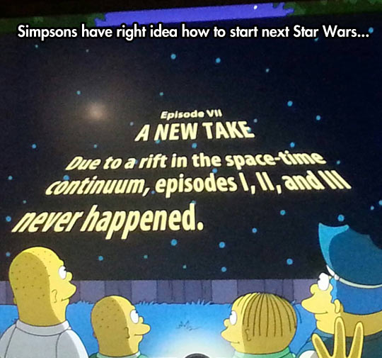 How to start the next Star Wars…