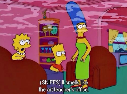 funny-Simpsons-smells-Barth-Lisa-Marge
