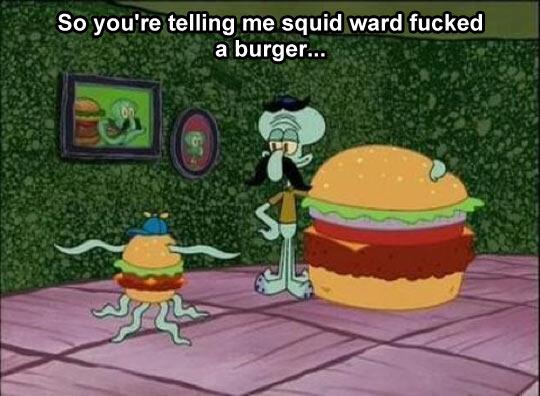 Spongebob logic at its best…