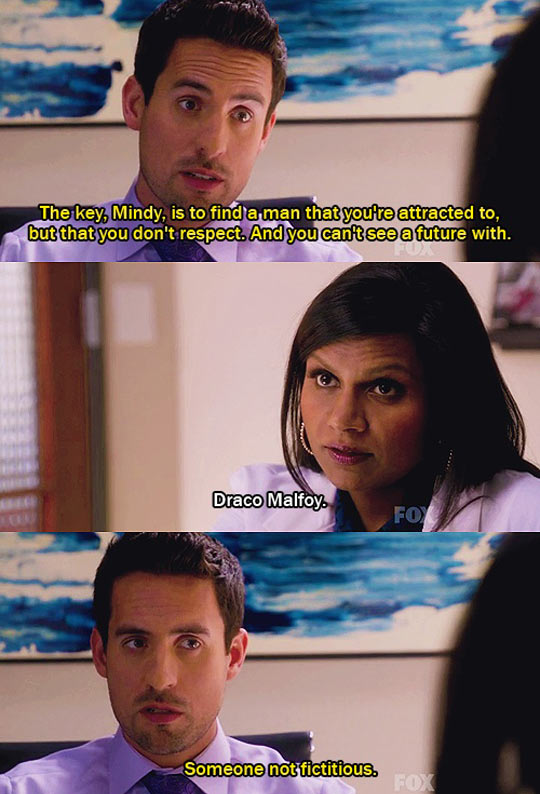 funny-The-Mindy-Project-conversation-Draco