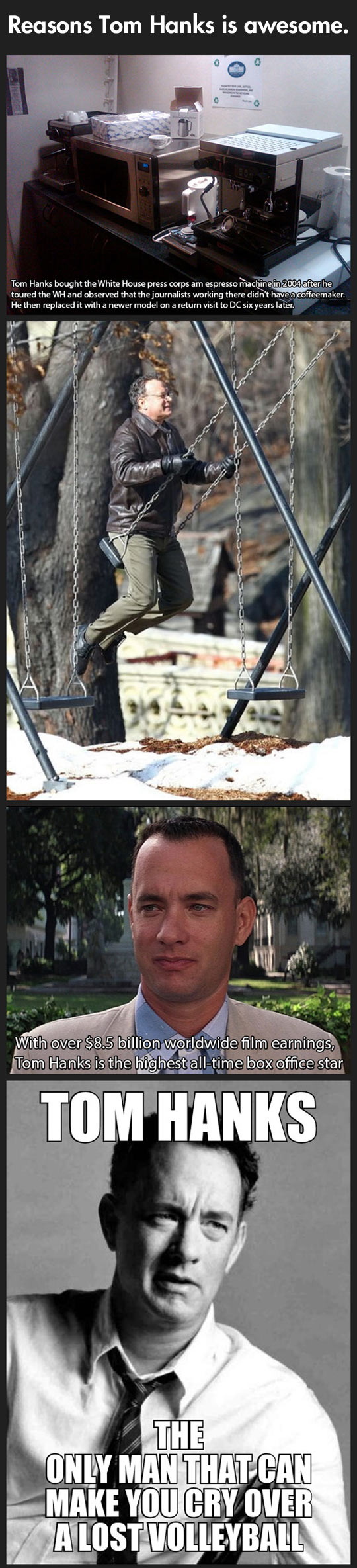 Why Tom Hanks is awesome...
