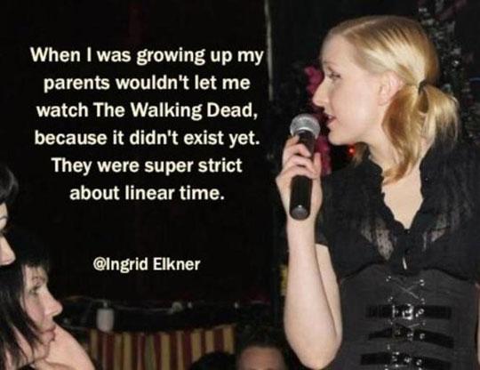 Super strict parents…
