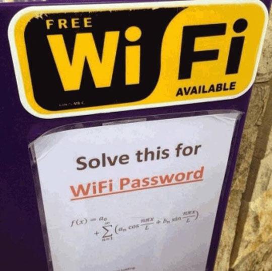 Well played, math teachers…