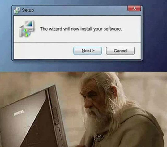 Good Guy Gandalf…