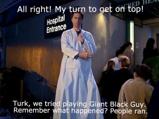 funny-Zack-Braff-giant-Scrubs-coat