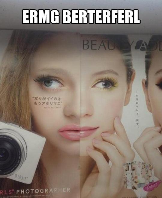 Beauty standards…