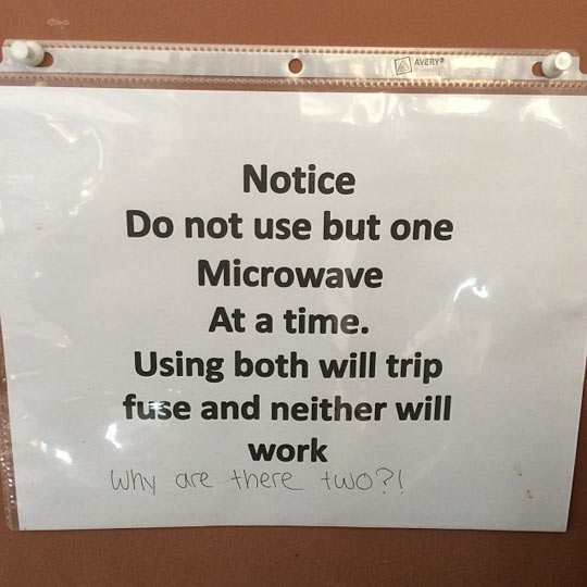 Break Room Logic…