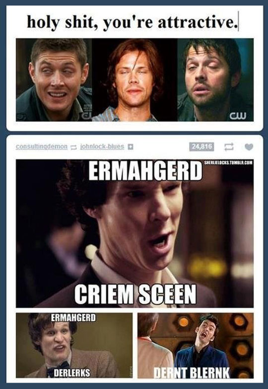 funny-attractive-actors-Dr-Who-Sherlock-weird-face