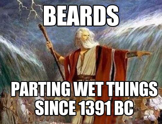 Beards rule…