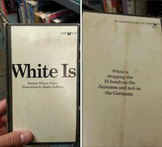 The first book I decide to look at and…