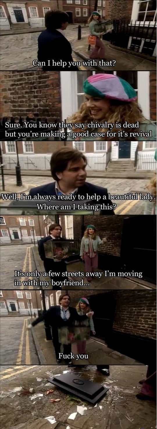 Chivalry in England…