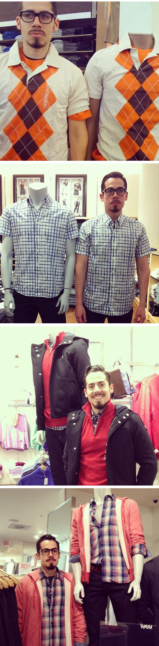 funny-boys-disguised-mannequin-clothes-shopping