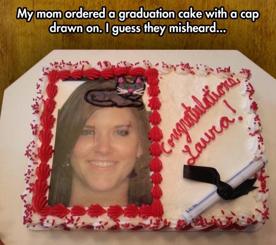 Graduation cat…