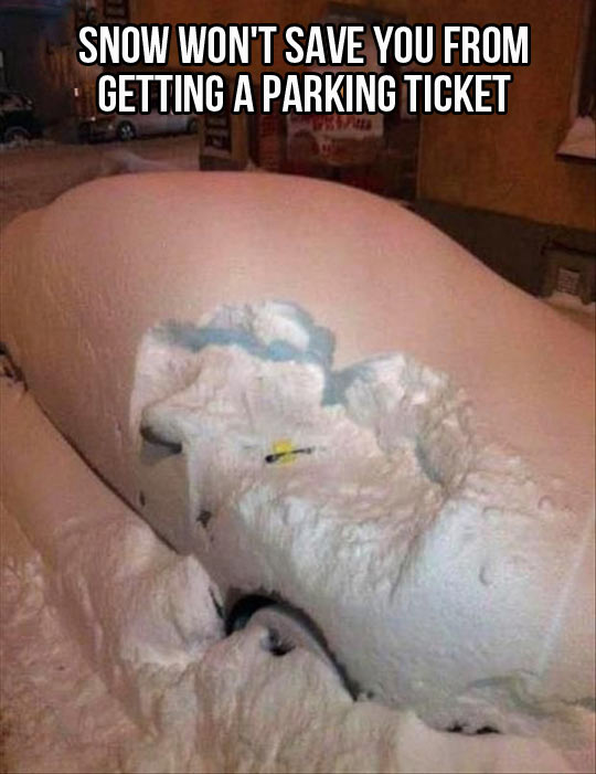 funny-car-snow-parking-ticket