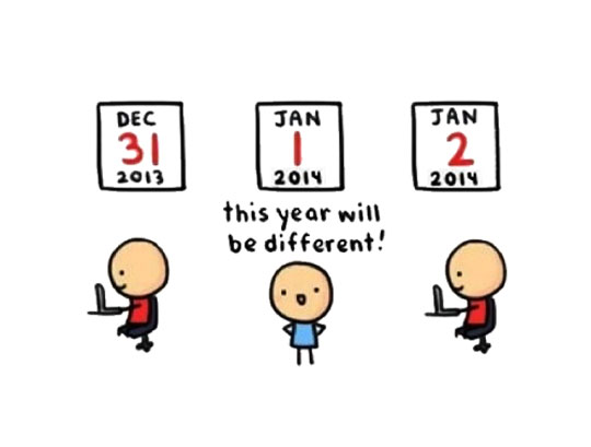 New year, new life…